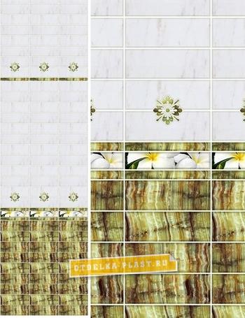 Стеновые панели ПВХ АРТ «ONC-18» фон (добор)