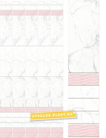 Пластиковые панели АРТ «OUC-20» фон (добор)