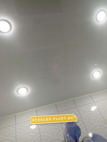 ПВХ панель белый глянец 2700x375x8