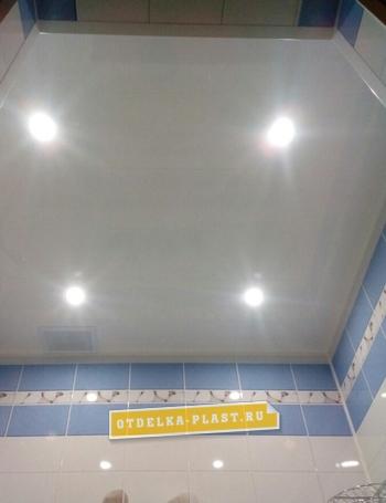 Белые матовые ПВХ панели 3000x400x8