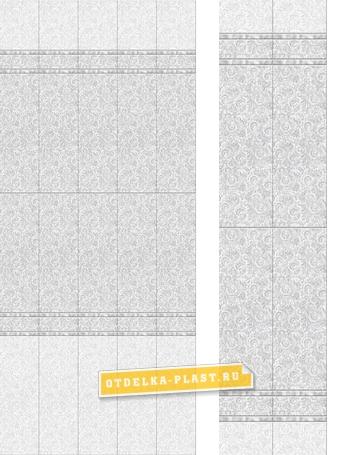 3D панель ПВХ АРТ «OPJ-02» фон (добор)