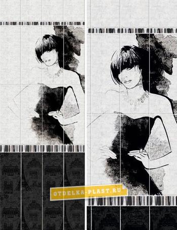 Панели ПВХ АРТ «OPA-01» рисунок