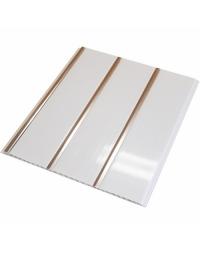 Пластиковый реечный потолок Хром