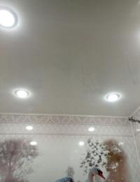 Белый глянец ПВХ панели 3000x500x8