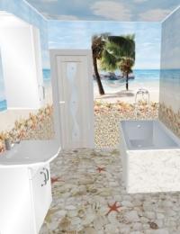 Ламинат для ванной АРТ «ONL-17»