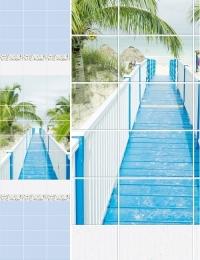 3D панель ПВХ АРТ «ONM-02» рисунок 2