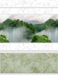 3D панель ПВХ АРТ «OPJ-016» рисунок