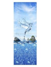 Пластиковая панель АРТ «OPM-20» рисунок