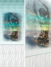 Пластиковые панели АРТ «OPA-06» рисунок