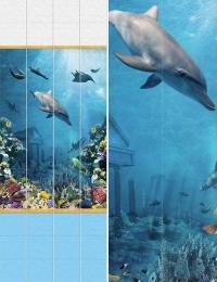 Пластиковые панели АРТ «OUM-04» рисунок